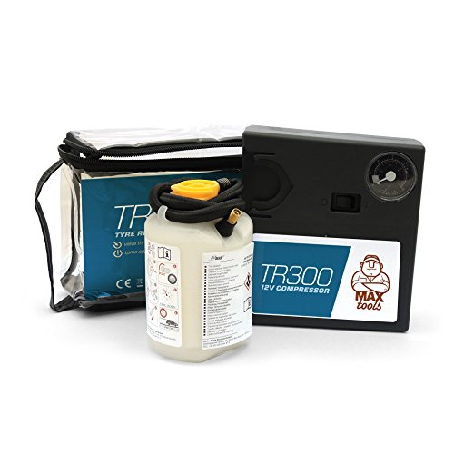 MAXTOOLS TR300 Tire Repair Kit SUV with 'valve through' technology, for offroad cars and SUV