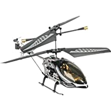 Fun2Get REH46112-1 - RC Hubschrauber Mini Helikopter Falcon Metal RTF mit Gyro-Technologie, schwarz