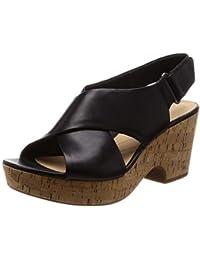 63236f0bc43 Amazon.es  Negro - Sandalias de vestir   Zapatos para mujer  Zapatos ...