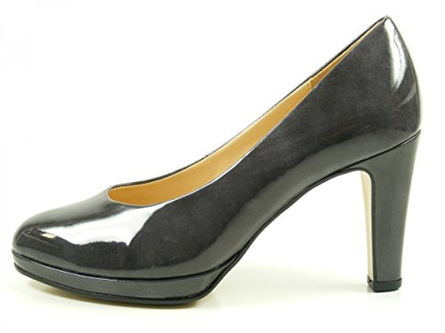 Gabor Damen Fashion Pumps Schwarz (79 Titan)