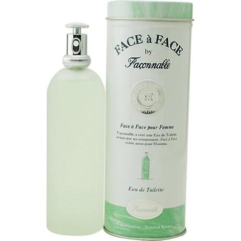 Face A Face POUR FEMME par Faconnable - 100 ml Eau de Toilette Vaporisateur