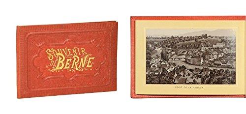 """""""Souvenir de Berne"""" (Deckeltitel)."""