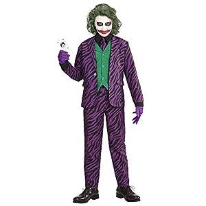 WIDMANN Evil Joker Girls, 128cm/5?7años, vd-wdm19316