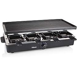Raclette Tristar RA-2995 - Pour 8 personnes - Gril et plaque de cuisson