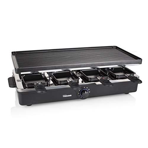 Raclette Tristar RA-2995 – Pour 8 personnes –  Gril et plaque de cuisso