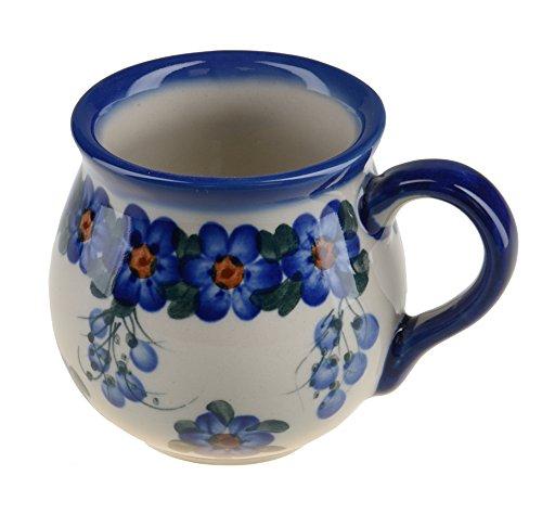 BCV Boleslawiec Pottery – Tazza in ceramica, dipinta a mano, 250 ml, 523-U-001