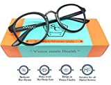 Silvercare Blue Ray Cut UV 420 Anti-Reflection unisex Round Spectacle for computer protection