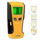 INTEY 3 in 1 Multifunktions Detektor Ortungsgerät für Metall Holz Wechselspannung Leistungssucher Wand Scanner Stud Pinpoint