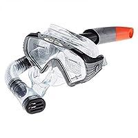 Aqua Lung SC227112 Starbuck Snorkeling Diving Mask and Snorkel Set, Black