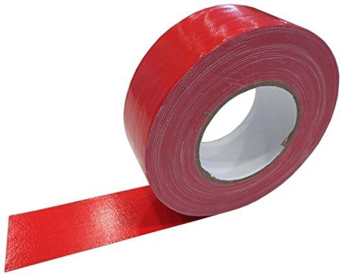 Klebeband Rot 50mm x 50m Gaffa Tape Gewebeklebeband Premium