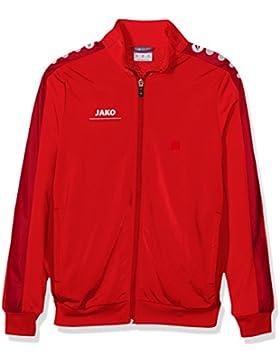 Jako Chaqueta Striker, todo el año, infantil, color Rojo - rojo, tamaño 8 años (128 cm)