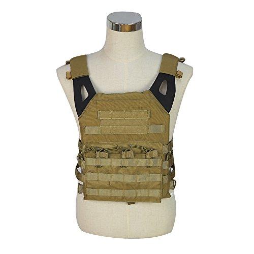 Chaleco táctico militar JPC, uniforme de combate para exteriores, para juegos de guerra militar, chaleco molle para cazar con placa, hombre, T