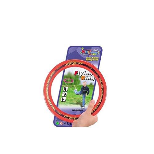 Finebuying Flying Ring Fliegende Scheibe, Fliegende Spiel, Kreative Handschub-UFO für Sport, Mini UFO Spin On The Game of Catch, Capture Spiel für Kinder und Erwachsene 10 Zoll (Orange)