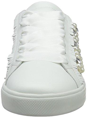 Kennel und Schmenger Schuhmanufaktur Damen Town Sneakers Weiß (bianco/pearl Sohle weiss)