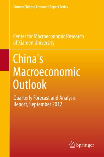 China's Macroeconomic Outlook: Quarterly Forecast and Analysis Report, September 2012
