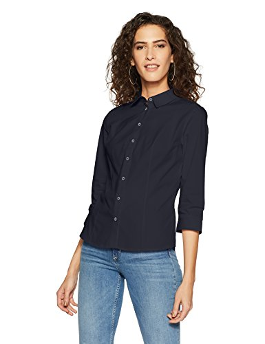 a0a0b6693ba Marks   Spencer Women s Plain Regular Fit Shirt