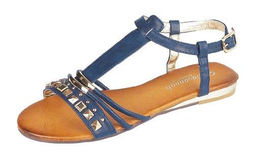 Savannah  L6730, Sandales pour femme Bleu - bleu