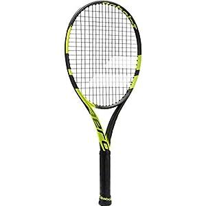Babolat – Pure Aero Junior 26 (besaitet) Tennisschläger (gelb/schwarz)