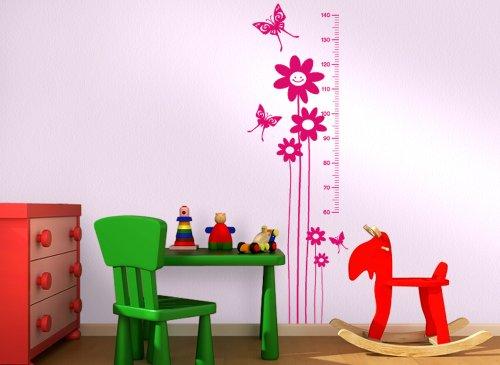Gran Dora 1007W adesivo Scala di 140cm per la camera dei bambini, bianco crema, 40 x 145 cm