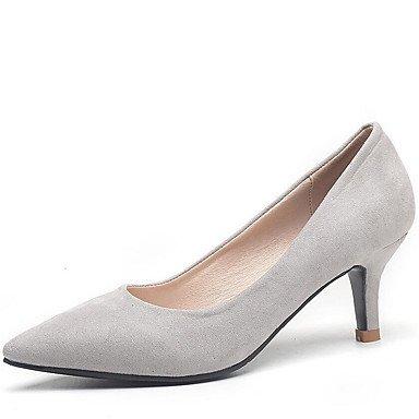 Zormey Frauen Heels Frühling Sommer Herbst Club Schuhe Comfort Fleece Büro & Amp; Karriere Party & Amp; Abendkleid Stiletto Heel Walking US5.5 / EU36 / UK3.5 / CN35