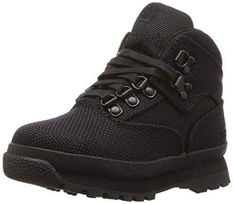 Timberland Euro Hiker Fabric Boot (Toddler/Little Kid/Big Kid), Black 1, 9 M US Toddler