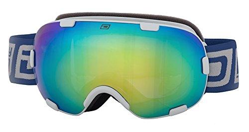 Dirty Dog postcombustore 0,5Bianco Neve Occhiali da sci, colore: verde Fusion Lenti 54177