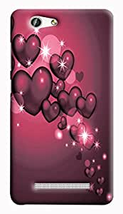 GADGETMATE Gionee F103 Pro Printed Back Cover(For Gionee F103 Pro )