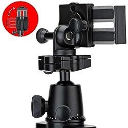 JOBY GripTight PRO Support Universel Premium pour Tout Type de Smartphone ou iPhone Avec ou Sans Étui, JB01389-BWW