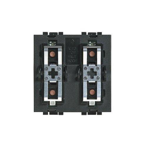 Preisvergleich Produktbild SCS Bticino Living International L4652–2Steuerung Lasten singoli-doppi 2Module