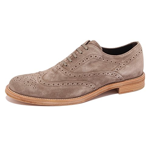 85894 scarpa classica TOD'S FRANCESINA BUCAT CUOIO PESANTE QM uomo shoes men Tortora