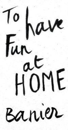 Autocar Volume 3 : To have fun at home par Francois-Marie Banier