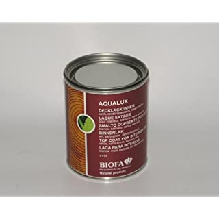 Biofa AQUALUX Decklack innen weiß seidenglänzend 0,75L