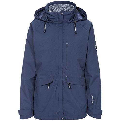 419i81zIipL. SS500  - Trespass Women's Cruising Waterproof 3-in-1 Jacket With Concealed Hood With Tie Adjusters and Detachable Inner Marl…