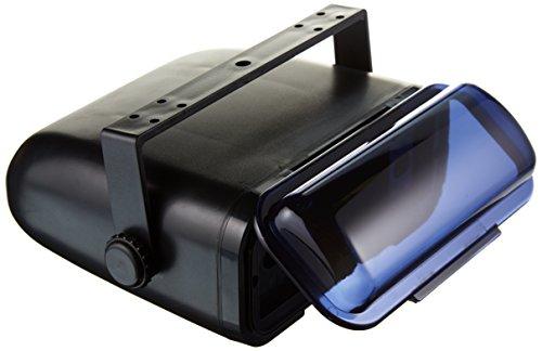 Pyle Gehäuse Universal-Stereo-Marine mit Vollrahmen Verkabeltes, Schwarz, PLMRCB3 (Cover Marine Stereo)