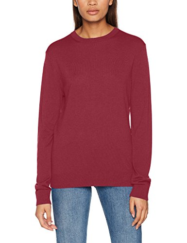 United Colors of Benetton Herren Pullover Sweater L/S Rot (Bordeaux (Red) 15L)