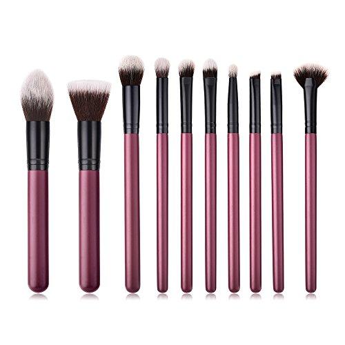 Leey pinceau de maquillage, crayon, maquillage, cosmétiques, 18PCS Fondation en bois cosmétique sourcils fard à paupières pinceau maquillage Brush Sets Outils