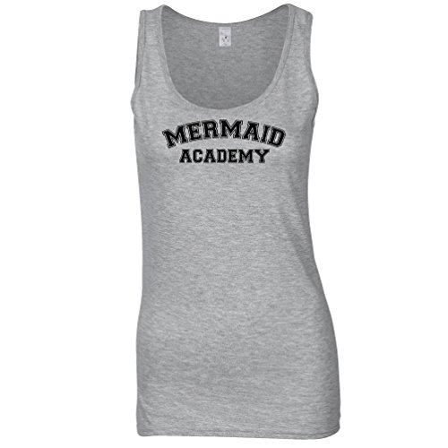 Tim And Ted Fantasy Womens Ladies Vest Mermaid Academy Education Learning Textbook School College Ocean Fish Merman Human Magic University Novelty Cool Funny Gift Present