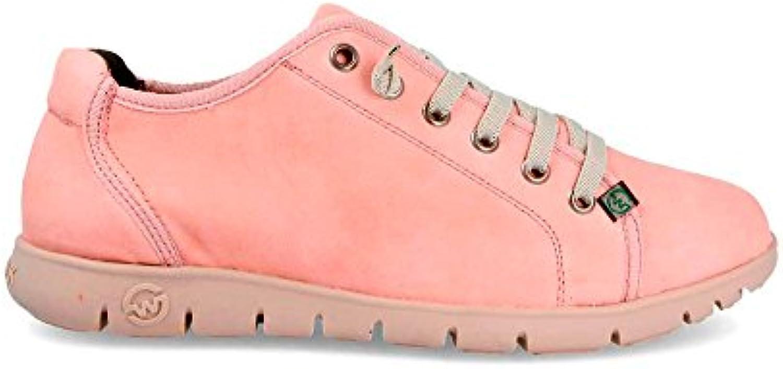 Sneaker Zapatilla Mujer Teemo-W Top Rosa Slowwalk