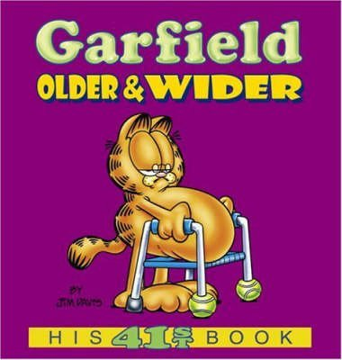[(Garfield: Older and Wider)] [ By (author) Jim Davis ] [January, 2005]