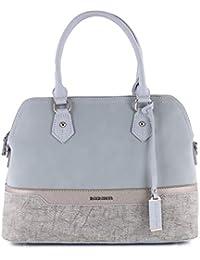 1574130886077 David Jones - Damen Handtasche - Nubuk Paillette Saffiano Lederstil -  Bugatti Tasche - Multicolor…