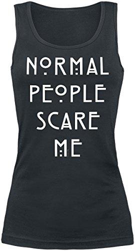 American Horror Story Normal People Scare Me Top Femme noir M
