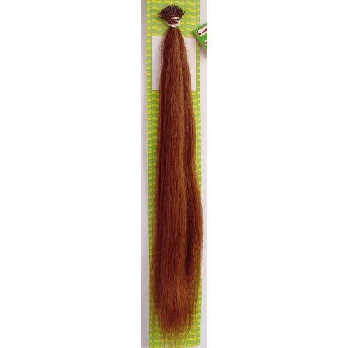'Dream Hair Stick Extensions 100 Pieces Str 22 : 7 22/56 cm Human Hair Extensions de cheveux Marron (Extension de cheveux 56 cm 100s)