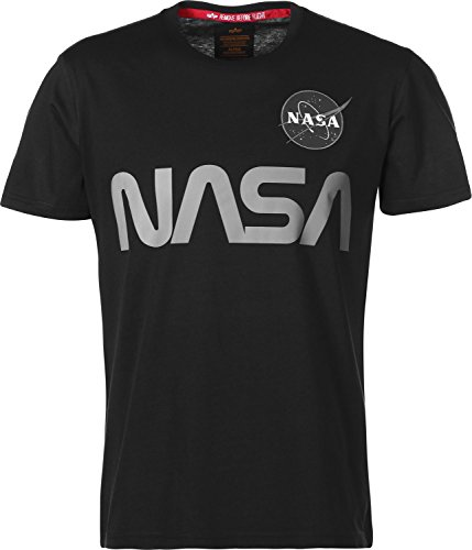 Alpha Industries NASA Reflective Camiseta black
