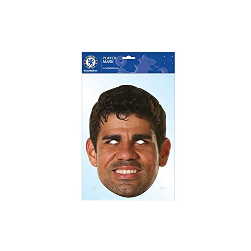 Diego Costa CFC Mask, Mask-arade Face Card Mask, Character Fancy Dress