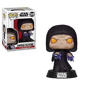 Funko- Pop Bobble: Star Wars: Emperor Palpatine Figura Coleccionable, (37591)