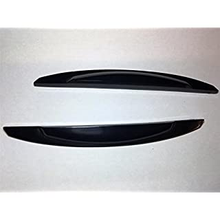 New Bump Stop Front Or Rear Door Guard Stick On Protectors Edge Strip Black