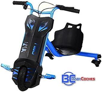 Babycoches - Triciclo Hoverboard Eléctrico Power Faster, 360 Grado