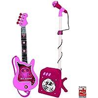 CLAUDIO REIG - Conjunto Flash micrófono + bafle + Guitar para niña ( 8441)