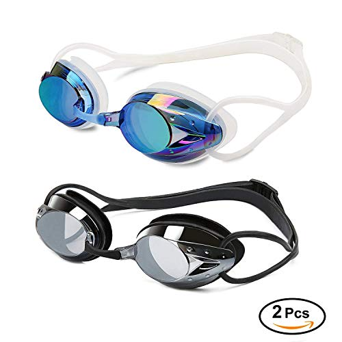 Yimidon Occhiali da Nuoto, Premium Occhialini Nuoto Anti-Appannamento Protezione UV...