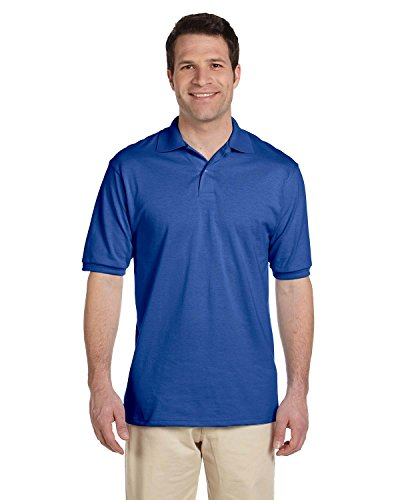 Golf-polo-shirt Jerzees (Adult 5.6 oz., SpotShield� Jersey Polo ROYAL 5XL)